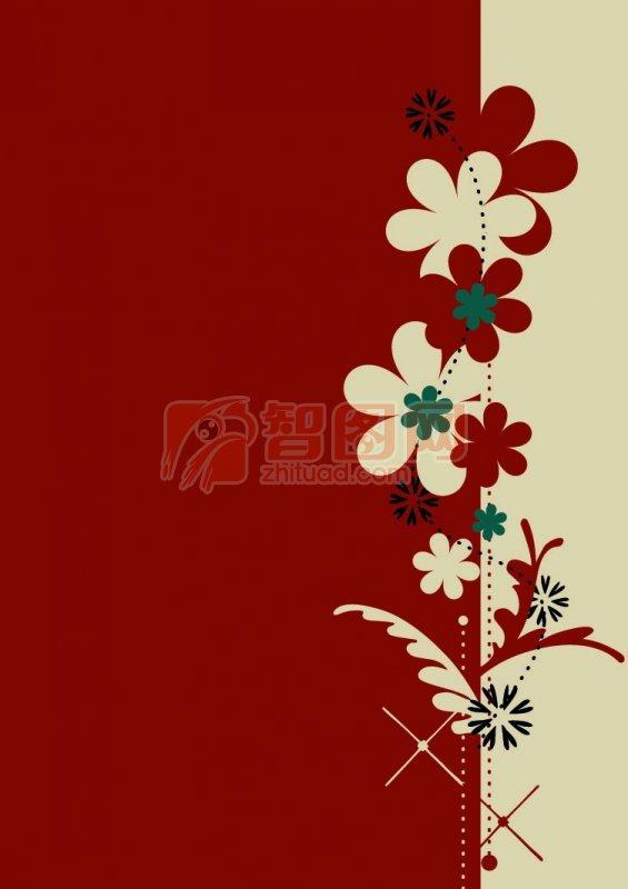花紋設計素材