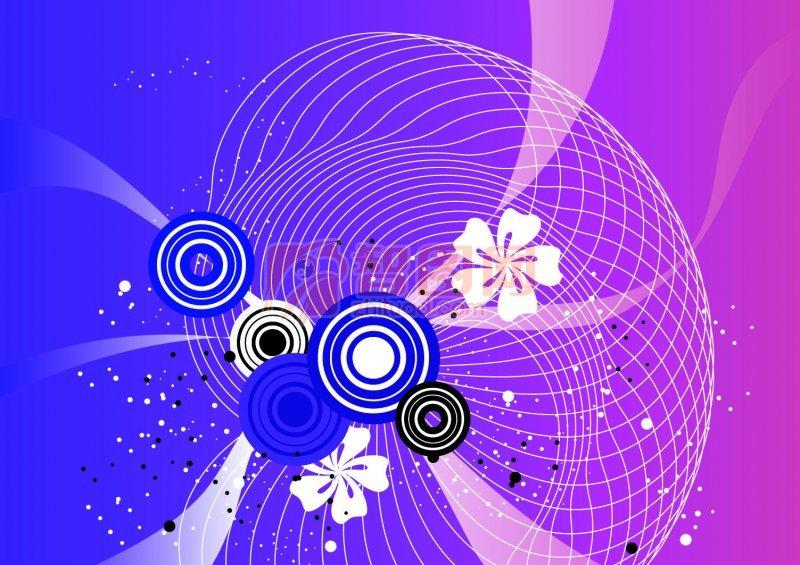 紫色渐变底纹