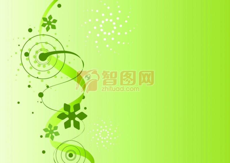 绿色渐变底纹