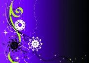 紫色漸變素材