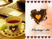 心形咖啡杯