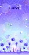蓝色调花纹