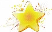 橙黄色星星