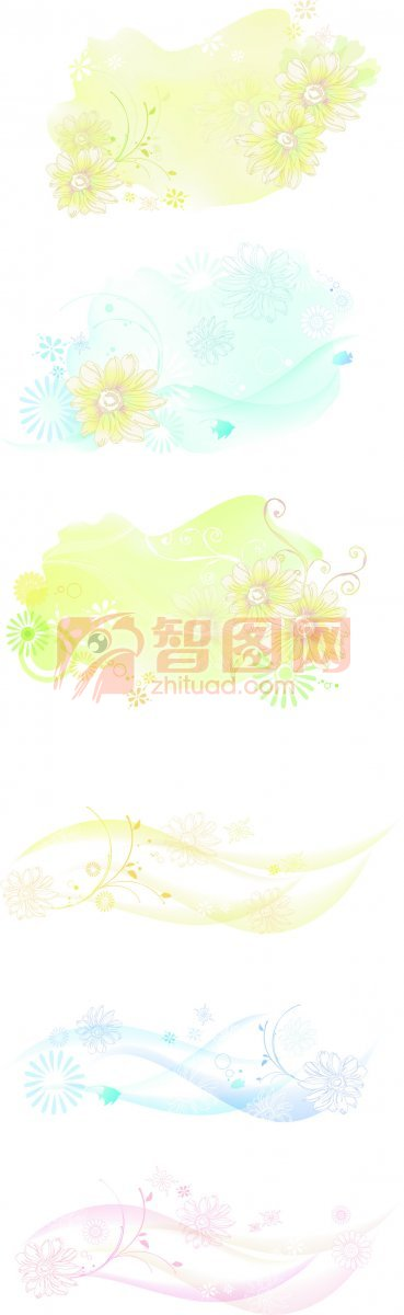 【psd】花朵花纹