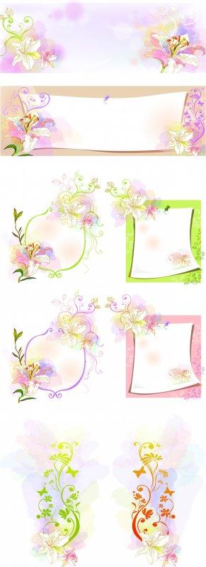 花纹边框设计