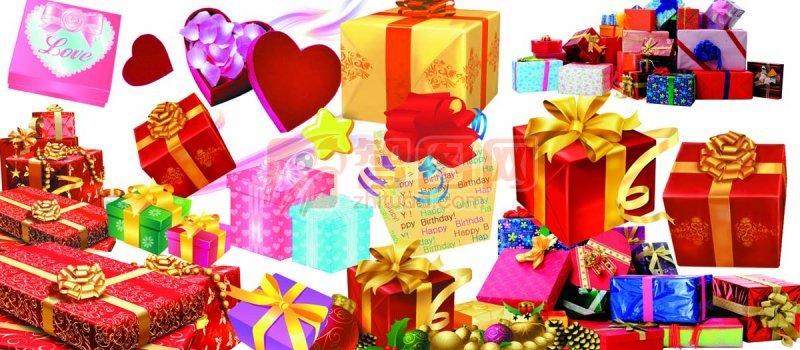 高清礼品盒 高清礼品盒 精品礼品盒 PSD格式礼品盒