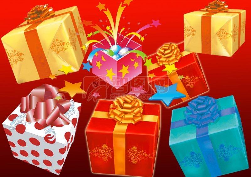情人节礼品 高清礼品盒