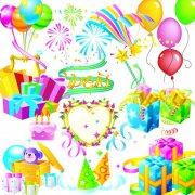 热气球 PSD分层素材 高清礼品盒
