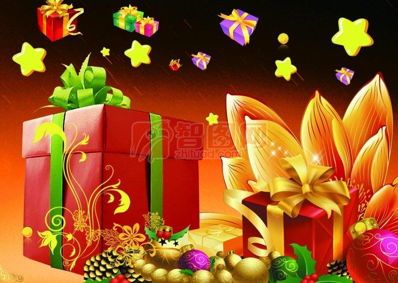尊贵礼品盒 PSD分层素材 高清礼品盒