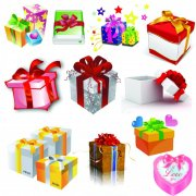 高清礼品盒 精品礼品盒