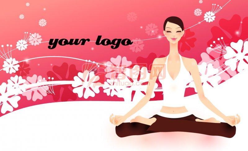 瑜伽名片设计