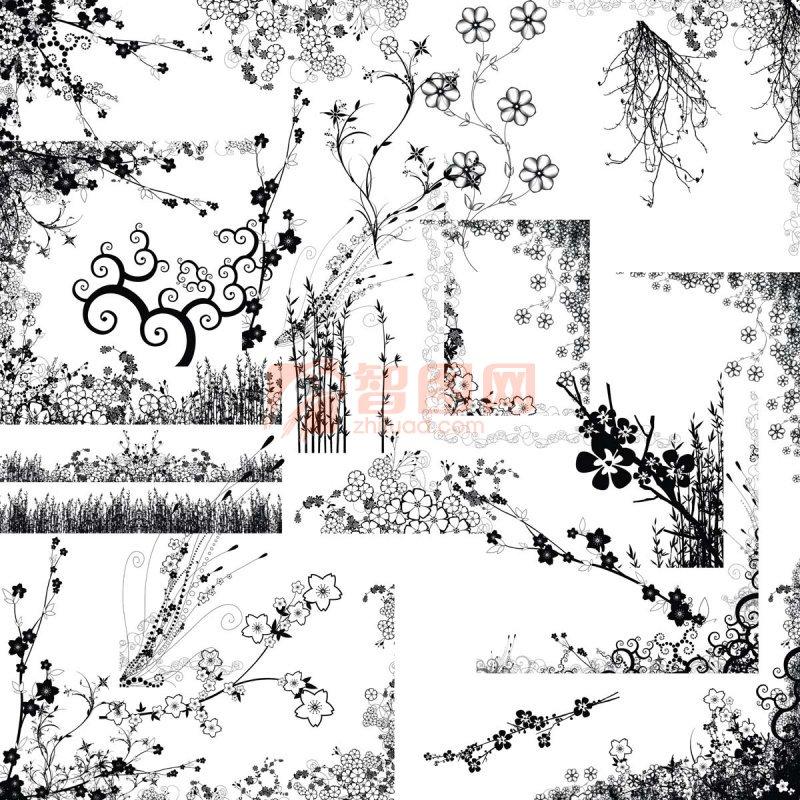 花紋背景 歐式花紋背景