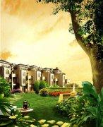 欧式花园房地产广告