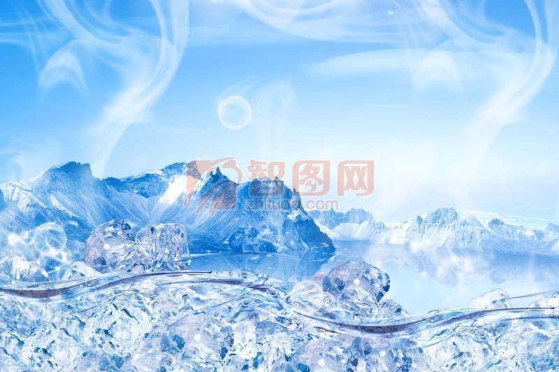 冰山冰爽海报