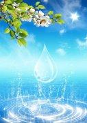 水纹效果海报