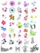 韓國花紋圖庫