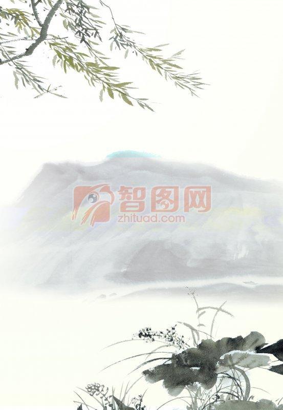 水墨 中国水墨山水画