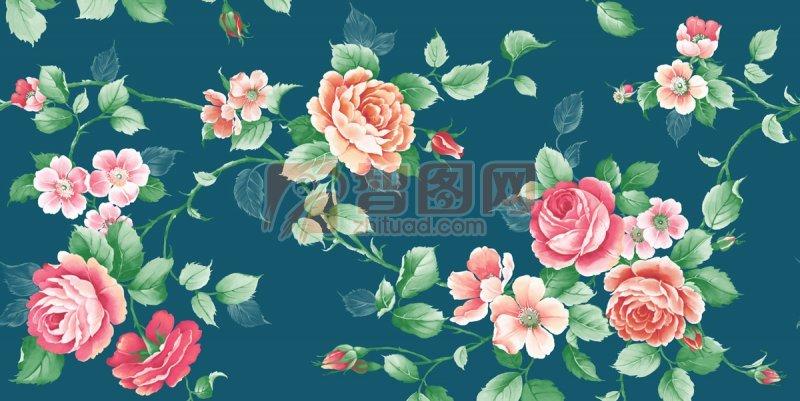 交錯的花朵