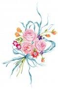彩带包装花纹