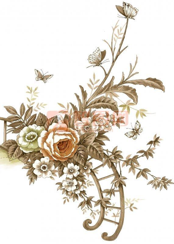 首页 ps分层专区 底纹边框 花边花纹  关键词: 淡雅花纹 盛开的花朵