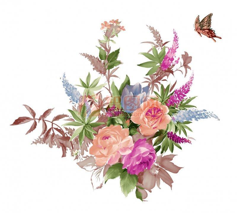 单个可爱小花朵