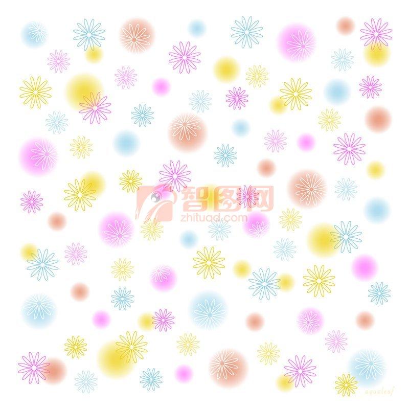 花朵元素花纹