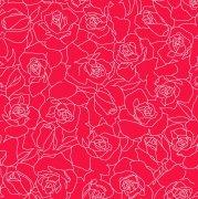 玫瑰花形圖案
