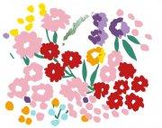 手绘花朵元素