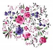 花朵花紋素材