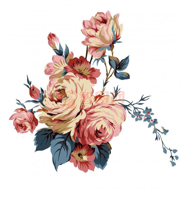 牡丹花花纹设计