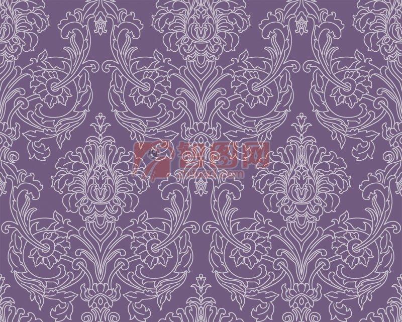 紫色背景底纹