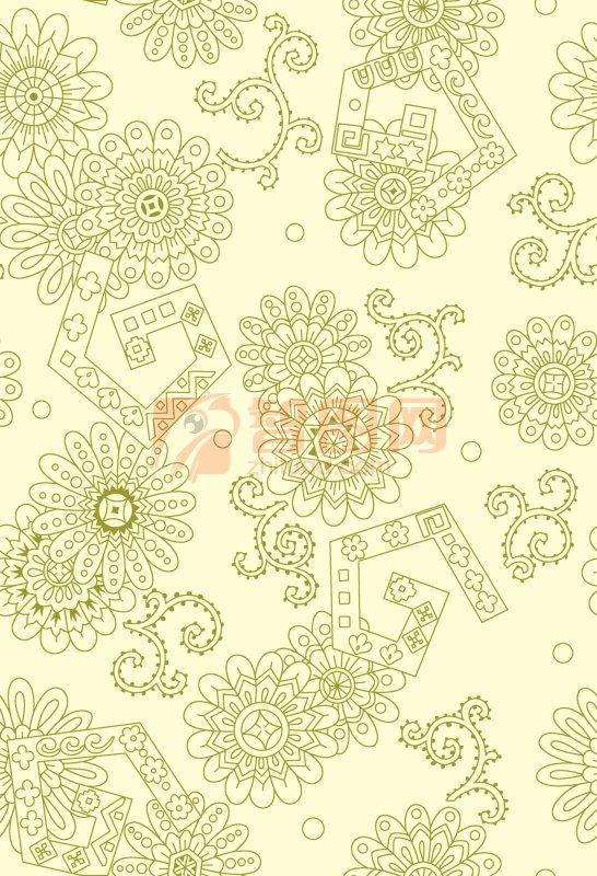【psd】浅黄色背景底纹