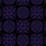 紫色花紋底紋