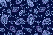 蓝色花纹底纹背景