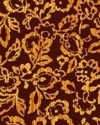金黄色花纹底纹