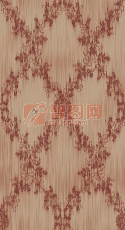 暗红色花纹底纹
