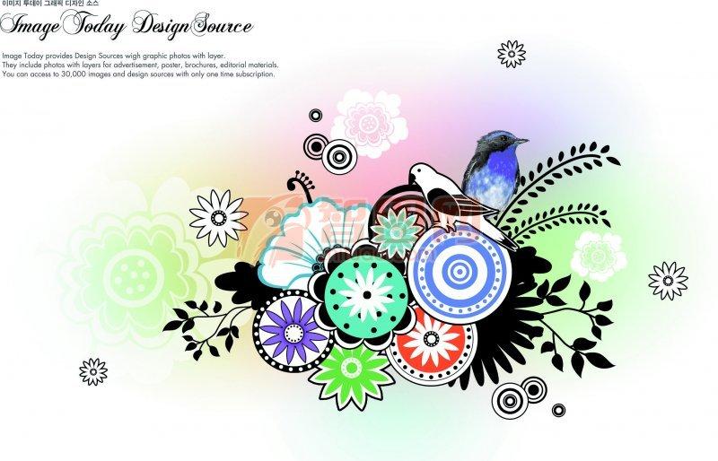 圆圈花纹设计