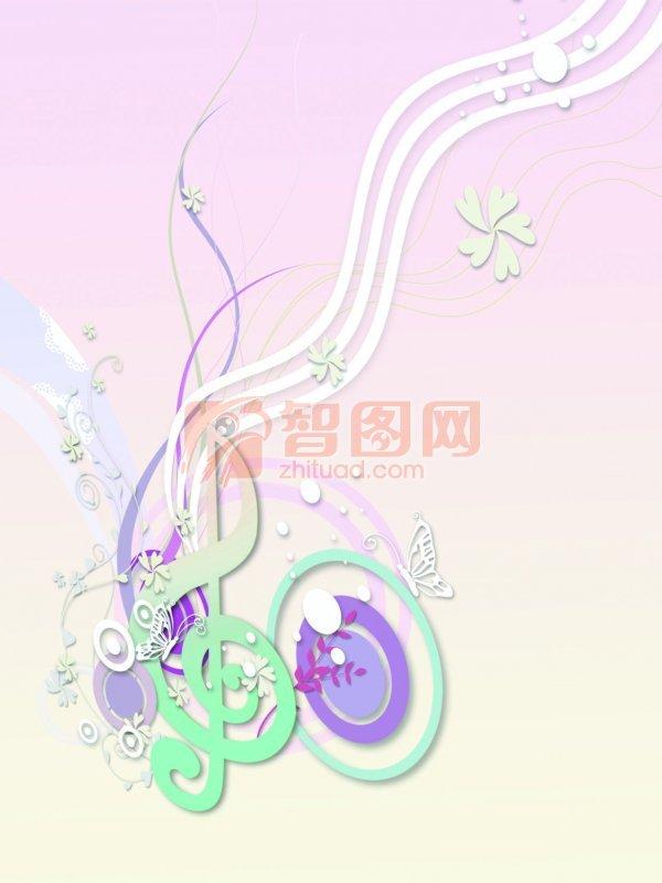 音符花纹设计