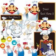 卡通厨师大全