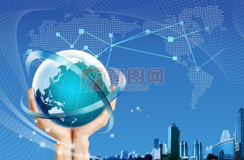 高新科技海报 PSD分层素材