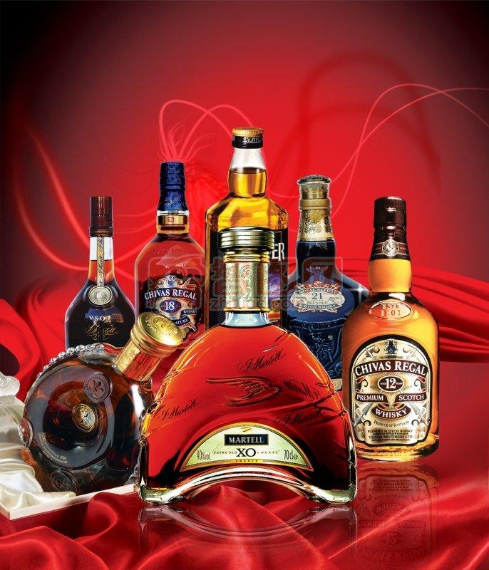 洋酒宣传海报
