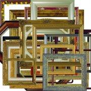 木质相框照片边框素材