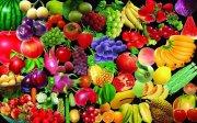 扣好的各類新鮮蔬果