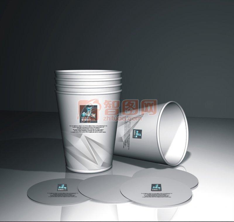 纸杯效果图