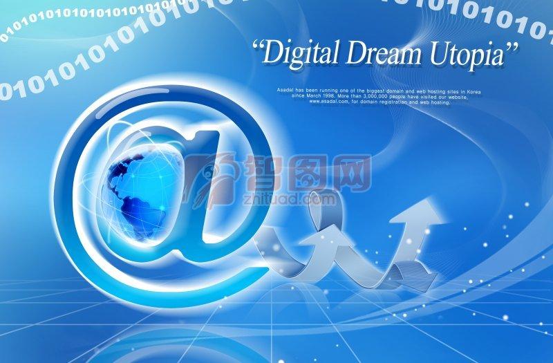 网络科技 网络科技PSD素材
