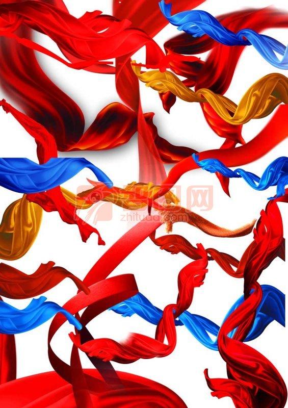 吊带 红色丝带 舞动丝带