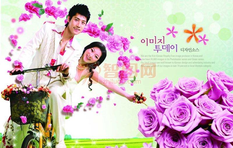 韩国风浪漫情侣