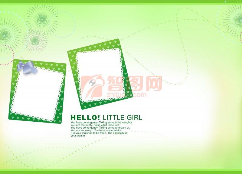 寶貝日記兒童照片模板