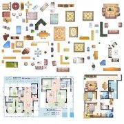 各类家具平面图