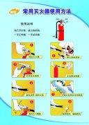 泡沫滅火器的使用方法